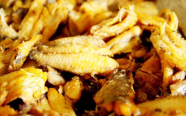Bánh đa cá rô đồng Hà Nam - cá rô