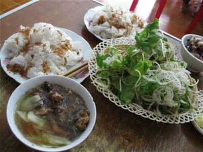 Đặc sản Hà Nam - hương vị thuần nông-bánh cuốn