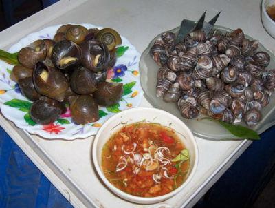 Đặc sản Hà Nam - hương vị thuần nông - Ốc đồng