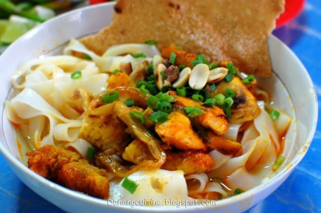 Mì Quảng cá lóc - hương vị khó quên