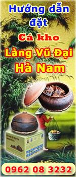 Hướng dẫn đặt cá kho làng Vũ Đại