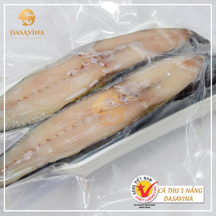 Cá thu một nắng là một loại hải sản ngon